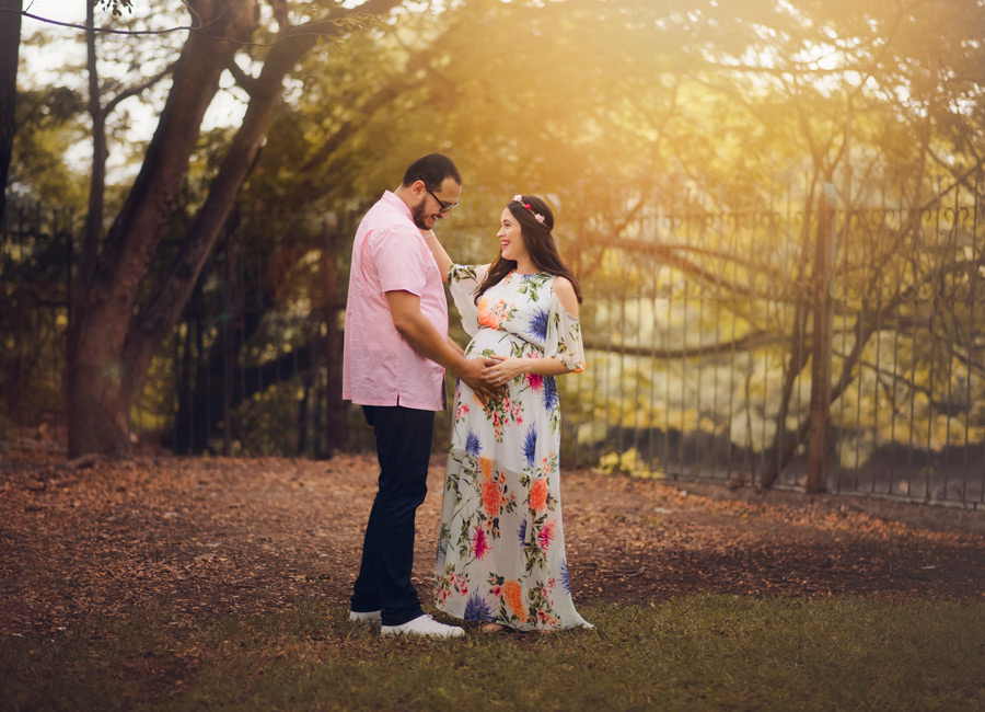 sesion de fotos embarazada