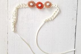 Cintillo bolitas y perlitas