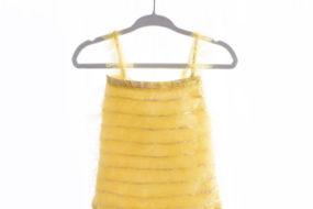 Romper amarillo con tul