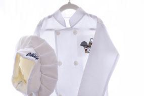 Camisa de Chef con gorro