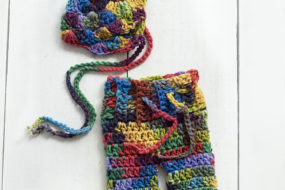 Conjunto de colores tejido (newborn)