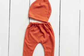 Conjunto naranja (newborn)