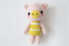 Chanchito felting