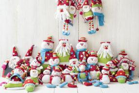 Muñecos navideños (x27)