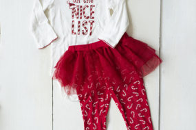 Pijama Bastoncitos «on the nice list» (niña)