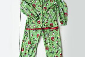 Pijama Snoopy niña (verde)