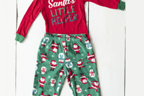 Pijama «Santa's little helper» (niño)