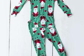 Pijama Santa verde (niño)