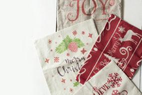 Forros de cojines navideños (x4)