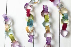 Guirnaldas de metal colores