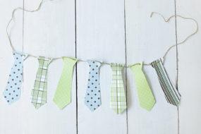 Banderines de corbata